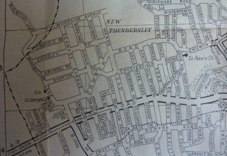 Rushbottom Lane and Eversley Road 1960's