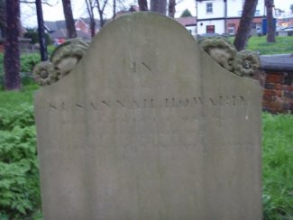Susannah Howard Gravestone taken 1st March 2010 | Phil Coley
