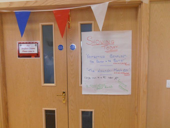 Benfleet Cinema entrance | Christine Coley