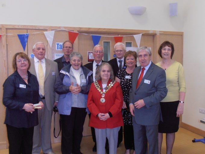 The Mayor, Cllr Jackie Govier with the BCA team | Christine Coley