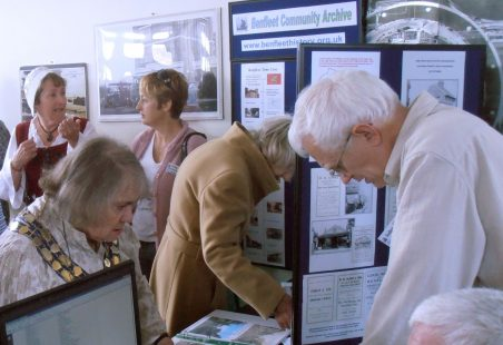 Benfleet Community Archive at the Hadleigh Launch