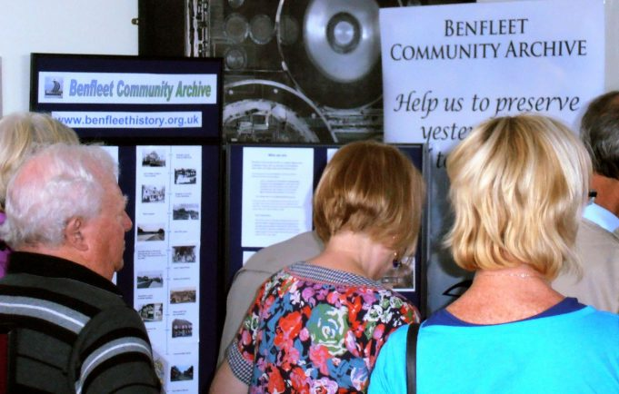 The public viewing our stall | Phil Coley