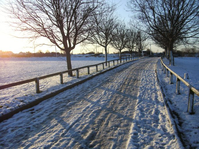 Recreational ground looking towards railway line | Adam poulton