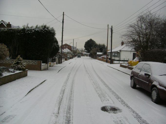 Brook Road looking  towards the High Road | Adam Poulton