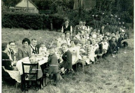 Downer Road - Street Party 1953