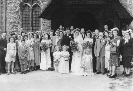 Wedding at St Mary's Church