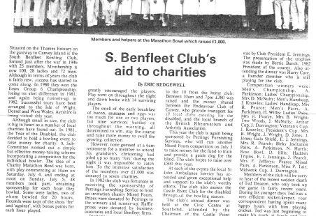 Benfleet Bowls Club