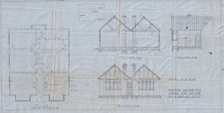 Plans for the extension to the bungalow. | Julie Summers