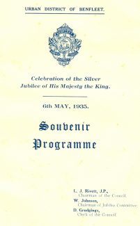 Souvenir Programme  Click link at bottom of page for full brochure | W. H. Houldershaw, Ltd.  With thanks to Bill Snow of Castle Point Council who allowed us to copy this document.