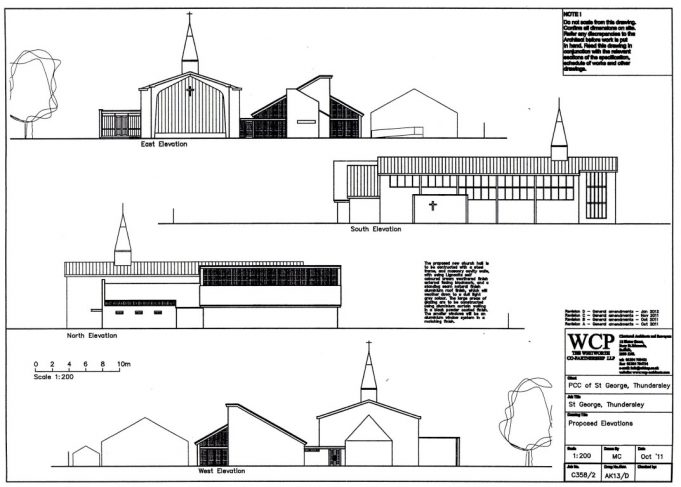 New plans For St George's Church Hall