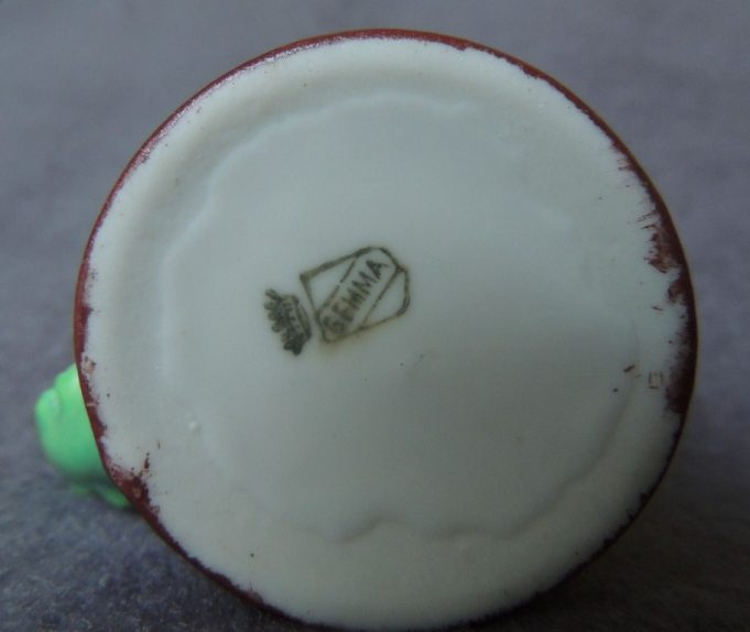 The base of the mug showing the 'Gemma' mark | Frank Gamble