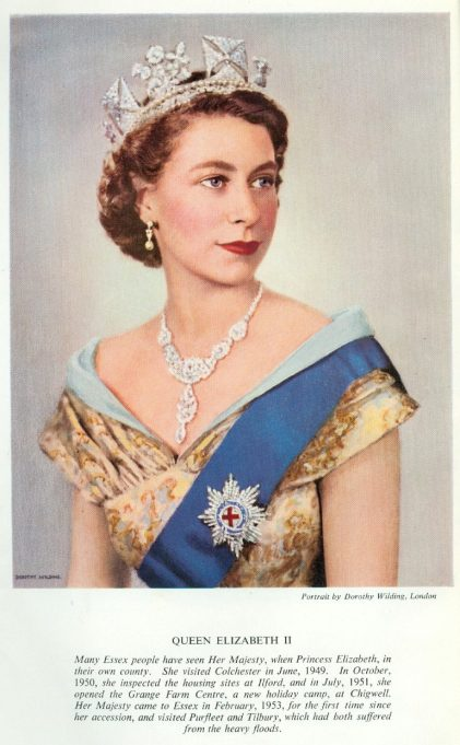 Queen Elizabeth II | County Council of Essex