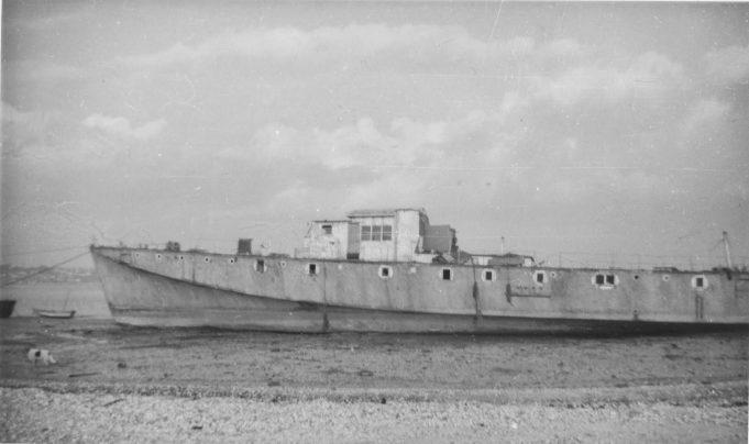 Ex-Royal Navy Motor Torpedo Boat