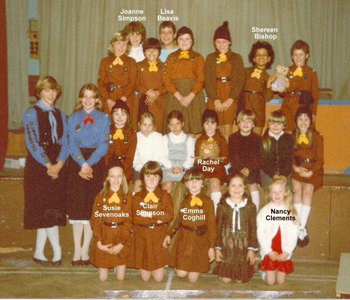 6th South Benfleet Brownies 1983 | Jenny Day