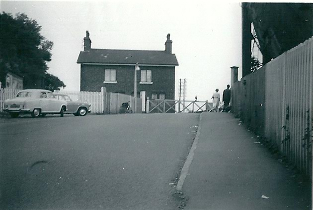 Railway cottage by the level crossing 1959 | From the collection of the late Kath Fisher with the permission of Paddy Marrisson