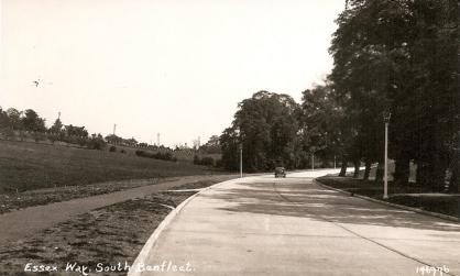 Top of Essex Way open 1937 | F.C. Postcards