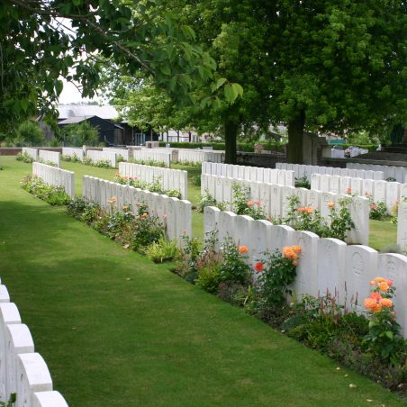Doingt Communal Cemetery Extension.  France. | Copyright.  The War Graves Photographic Project.