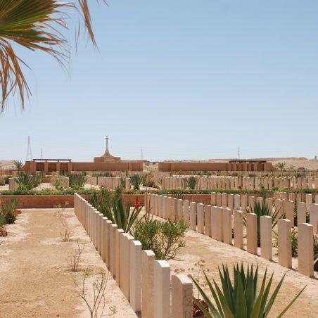 Knightsbridge War Cemetery.  Acroma.  Libya. | Copyright.  The War Graves Photographic Project.