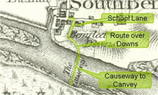The ancient route to Canvey Island in 1777 | Phil Coley
