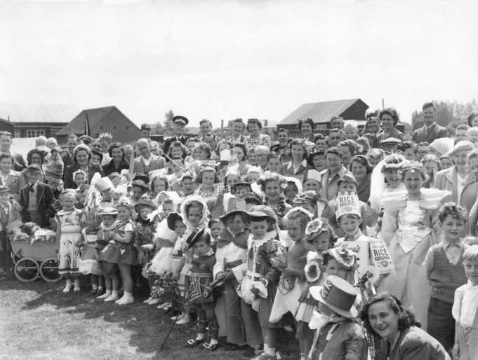 Coronation Celebration 1953 held at Rushbottom Lane Primary School | Pete Renaut