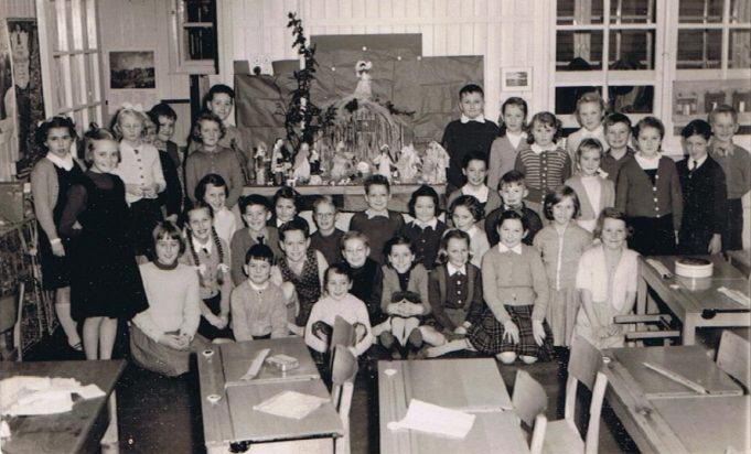 Class photo c.1958/59 | Peter Houghton