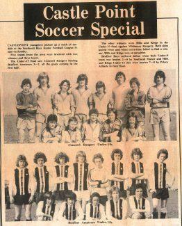 Concord Rangers Under-15s and Benfleet Amateurs Under-15s | Southend Standard