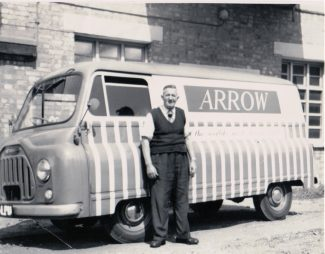 Arrow Shirts (Cluet, Peabody) - Arthur with his works van. | Janice Jiggens