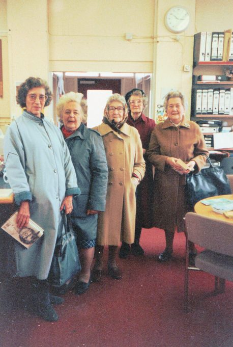 Library customers | June Elmes