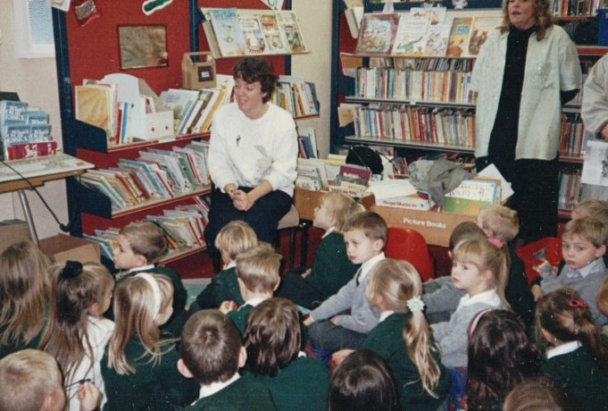 A Christmas event in the library, does anybody know which year? | June Elmes