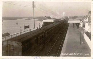 Benfleet Station from the Bridge | Benfleet and District Historical Society