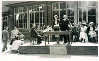 BHS Show held at South Benfleet Primary School 1953 | Benfleet Horticultural Society