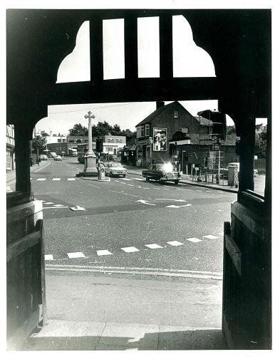 New roundabout - early 1970s
