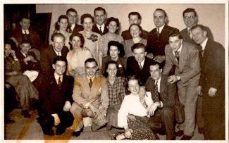 A social event at the Tarpots Snooker & Billiards Club 1940-1950 | John Rogers