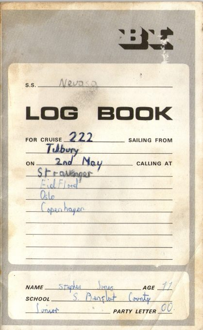 Log Book | Stephen Jones