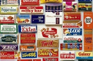 Sweets available in the 1960s