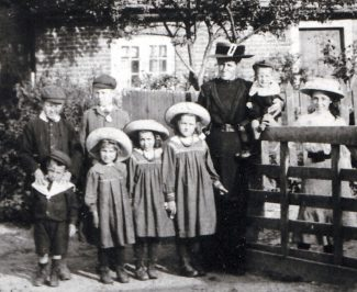 Samuel Sargent is tallest boy in this photo, aged about 14. | Courtesy Fred Sargent and Sargent family
