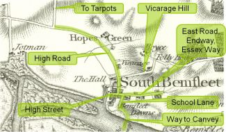 Saxon roads in Benfleet | Phil Coley