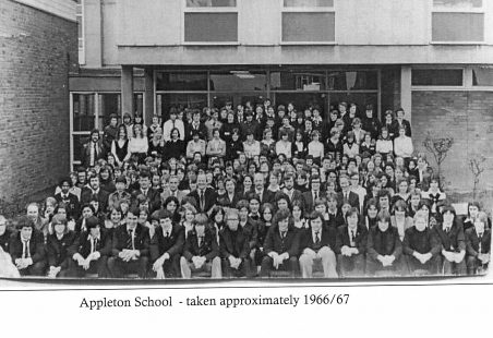 Appleton Comprehensive School opened 1966