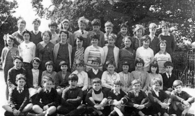 Mr Singleton's class approx. 1962