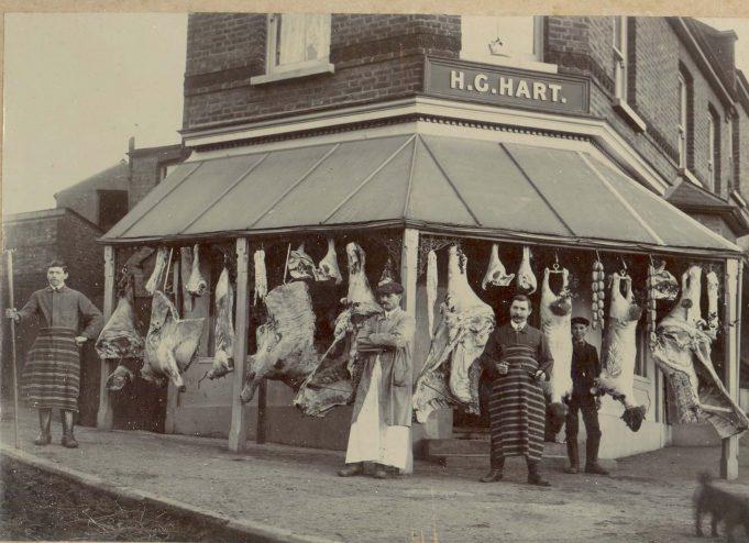 Harry Hart's butchers shop | Simon Hart