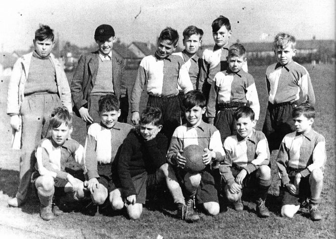 Benfleet Junior School Football Team c. 1950 | David Thomas