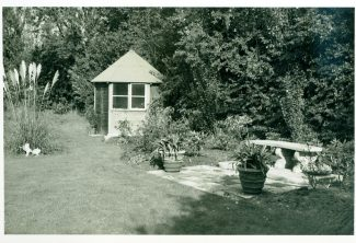 The garden as it looked in the mid 1960s | Julie Summers