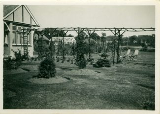 'Shandon' with pergola, showing the large garden.  c. mid 1930s | Julie Summers
