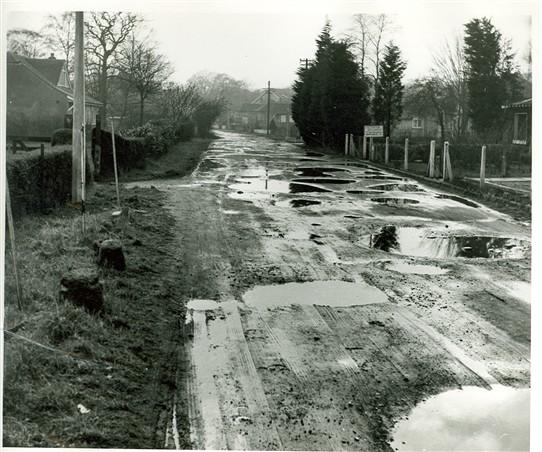 Looking towards Benfleet Road c. mid 1950s | John Carrington
