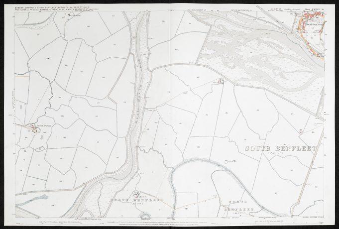 Parish of South Benfleet Sheet 77.10 © British Library Board | © British Library Board
