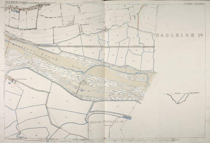 Parish of South Benfleet Sheet 77.11 © British Library Board | © British Library Board