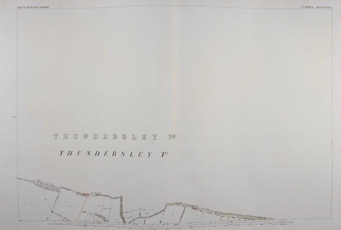 Parish of South Benfleet Sheet 77.3 © British Library Board | © British Library Board