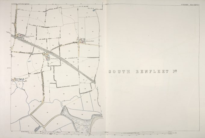 Parish of South Benfleet Sheet 77.6 © British Library Board | © British Library Board