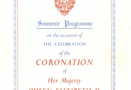Coronation of Queen Elizabeth II on June 2nd 1953