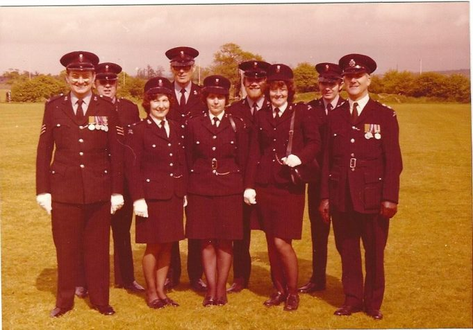 Benfleet and Canvey Special Constables 1960 | Edgar John Davis